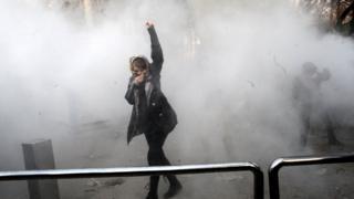 Demonstran di Teheran