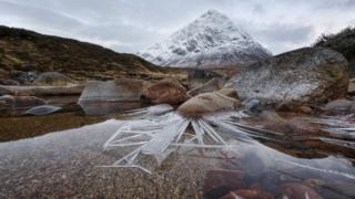 Ice Spikes, Glencoe, Scotland