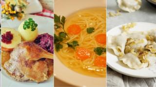 Examples of Polish cuisine