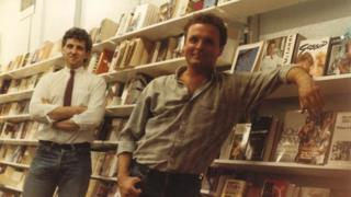 Wayne Harrison and Les McDonald in The Bookshop