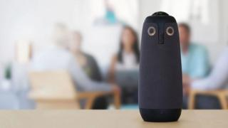 Owl video conferencing unit
