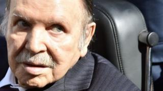 Tsohon shugaban Aljeriya Abdelaziz Bouteflika