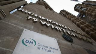 Department of Health building in Whitehall