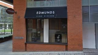 Edmunds Fine Dining Birmingham