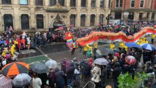 Manchester parade