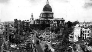 Лондон после германского налета