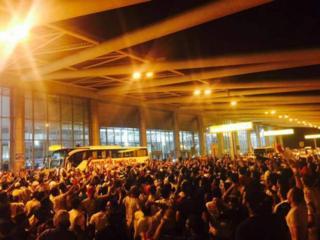 Les Egyptiens de Zamalek acclamés par les supporters