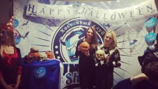 HC Dinamo Minsk Halloween party