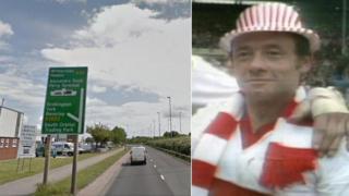 Garrison Road and Roger Millward