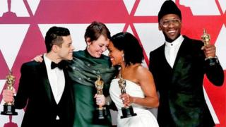 Победители в актерских номинациях: Рами Малек, Оливия Колман, Реджина Кинг и Махершала Али