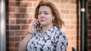 Sheridan Smith as Sarah Sak in The Barking Murders