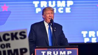Musharaxa madaxtinimada ee Xisbiga Jamhuuriga Mareykanka, Donald Trump