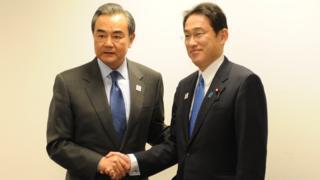 中国外交部长王毅星期五(2月17日)应约与日本外相岸田文雄会面。