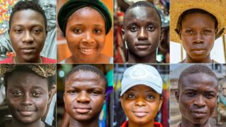 Nigeria composite of people interviewed