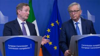 Enda Kenny was speaking in Brussels after meeting with European Commission President Jean-Claude Juncker