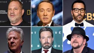 Hollywood'daki taciz iddialarına adı karışan isimler.