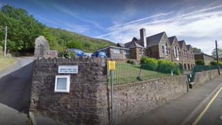 Ystalyfera landslide-risk school buildings 'may stay shut for a year'