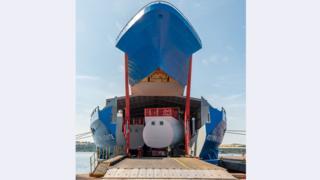 The ship Rotra Vente
