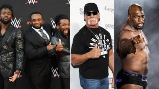 The New Day, Hulk Hogan and Titus O'Neil