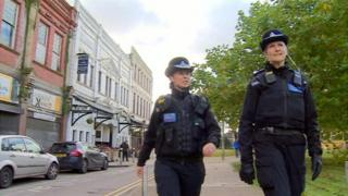 Community police out in Llanelli