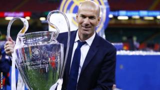 Zinedine Zidane arashaka gutwara Champions League ku nshuro ya gatatu yikurikiranya
