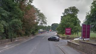 Blackburn Road in Clayton-le-Moors