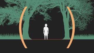 ilustração de criança na amazônia