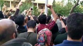 تظاهرات کردهای ایران علیه حمله ترکیه به سوریه