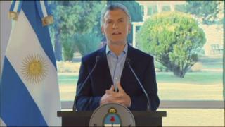 Macri, yeni ekonomik reform paketini televizyondan duyurdu