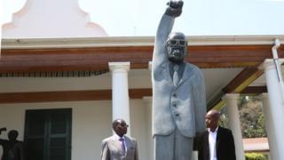 Mugabe statue