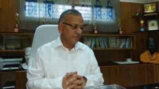बनारस हिंदू विद्यापीठाचे (बीएचयू) कुलगुरू प्राध्यापक गिरीश चंद्र त्रिपाठी.
