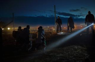 """Refugees on the Balkan Route"" by Matej Povse, 2nd place, Single Image, LensCulture Exposure Awards 2015"