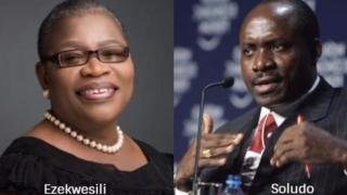 Oby Ezekwesili na Charles Soludo