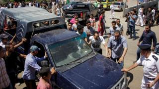 """نُفذ هجوم """"البدرشين"""" في وضح النهار وأسفر عن مقتل خمسة رجال شرطة"""