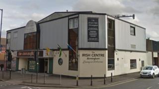 Birmingham's Irish Centre in Digbeth