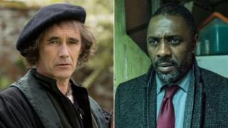 Mark Rylance and Idris Elba