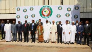Shir madaxeedkii 50aad ee ECOWAS