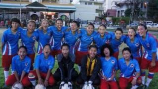 تیم فوتبال زنان تبت