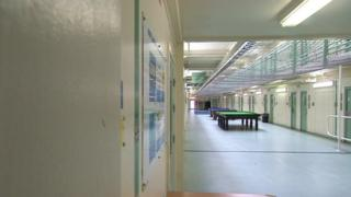 Cell block at Lindholme