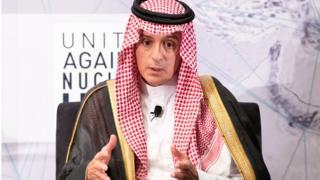 सऊदी के विदेश मंत्री अदेल अल जुबेर