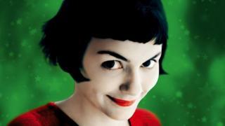 a protagonista Amelie poulain, do filme de mesmo nome