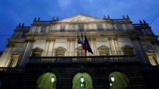 File image of La Scala theatre in Milan, Italy December 7, 2018
