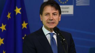 Le chef du gouvernement italien s'est réjoui de l'accord de l'UE sur les migrants.
