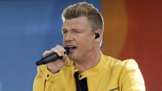 Nick Carter of the Backstreet Boys performs live on ABC's 'Good Morning America' Summer Concert on July 13, 2018 in New York City