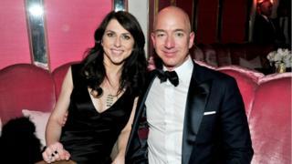 MacKenzie Bezos ve Jeff Bezos