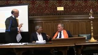 MP Bob Blackman with Tapan Ghosh