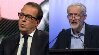 Owen Smith Jeremy Corbyn