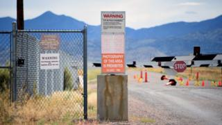 Warning Signs in Area 51