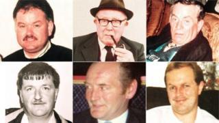 Victims of Loughinisland massacre