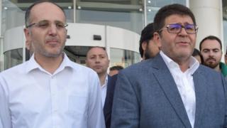 Halit Bayhan ve Mustafa Boydak
